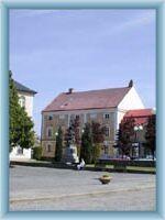 Stadtplatz in Humpolec