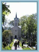 Friedhofskirche in Humpolec