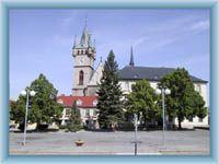 Rathaus in Humpolec
