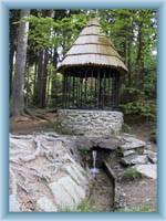Silberer Quellbrunnen unter Křemešník