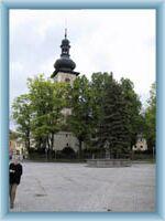 Kirche in Nové Město na Moravě