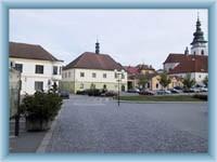 Stadtplatz in Pelhřimov