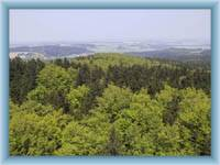 Anblick aus dem Aussichtsturm Pípalka