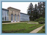 Telč - Glashaus im Schlosspark