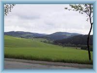 Gebirge Žďárské vrchy von Nové Město nad Metují